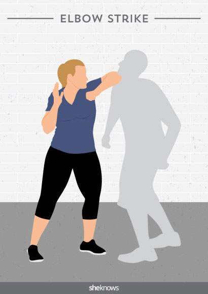 วิธีป้องกันตัวสำหรับผู้หญิง