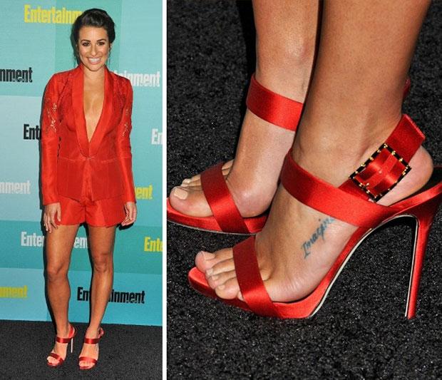 สวมรองเท้าใหญ่กว่าเท้าจริง