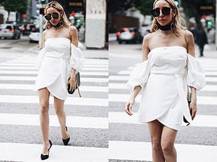 เดรส Haute & Rebellious, กระเป๋า YSL, รองเท้า Zara, แว่นตากันแดด Haute & Rebellious