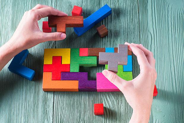 เล่นเกม Tetris ฝึกสมอง