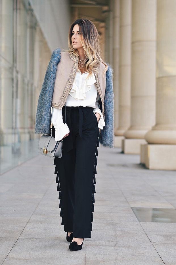 แจ็คเก็ต Apparentia, รองเท้า La Mar De Lunares, กางเกง Zara