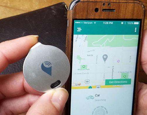 GPS ขนาดจิ๋วช่วยติดตามรถด้วยมมโทรศัพท์มือถือ