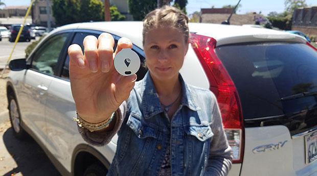 GPS ขนาดจิ๋วช่วยติดตามรถด้วยโทรศัพท์สมาร์ทโฟน