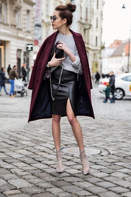 GearBest Sweater, Bershka Skirt, Botovo Booties, Zara Bag, BayBay Sunglasses