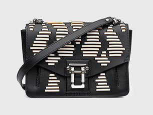กระเป๋าสีดำ Proenza Schouler HAVA