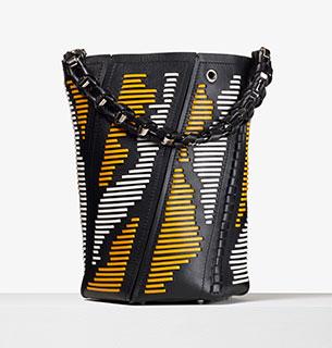 กระเป๋าสีเหลือง Proenza Schouler HEX