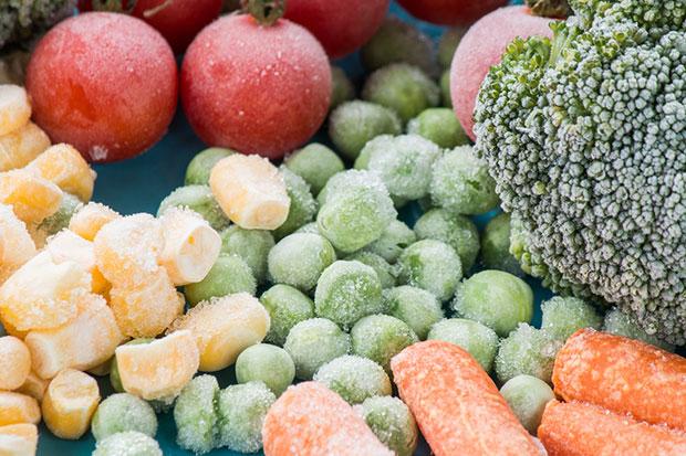 ข้อดีและข่าวดีสำหรับผักและผลไม้แช่แข็ง