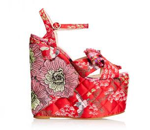 รองเท้า Kurt Geiger Halo Red