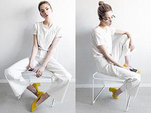 เสื้อ Ragdoll, รองเท้า Sarenza, กางเกง Monki, แว่นตา GlassesUSA