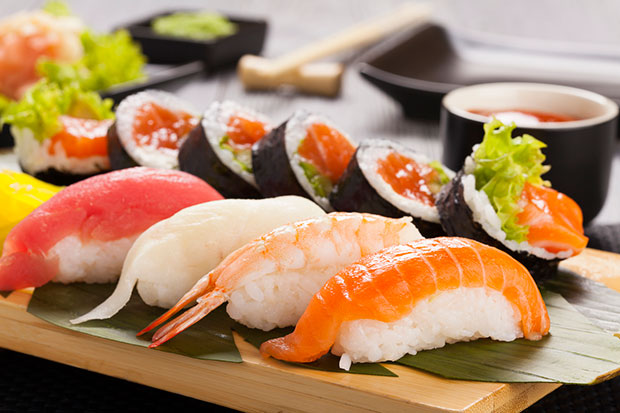 เหตุผลที่ควรรับประทานซูชิที่ทำมาจากปลาแช่แข็ง