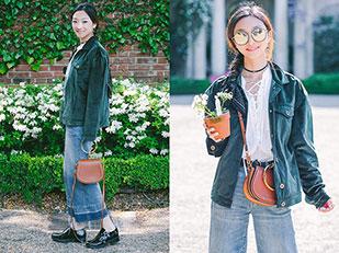 แจ็คเก็ต Bellenista, กระเป๋า Chloé, เสื้อ Equipment, แว่นตากันแดด Gentle Monster