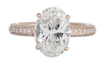 แหวนหมั้นโรสโกลด์