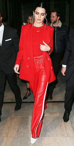 Kendall Jenner รองเท้า Kurt Geiger