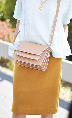 กระเป๋า MARNI ช่องใส่แบบ Multiple