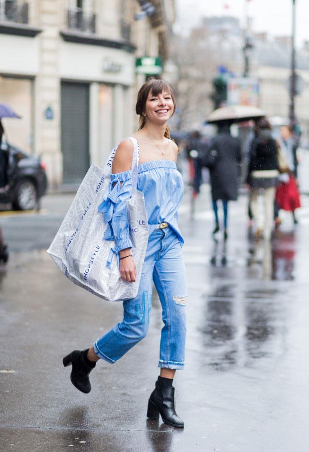 รองเท้าส้นสูง Zara, กระเป๋า Furla, เข็มขัด Céline