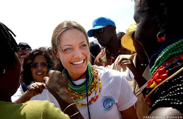 เซเลบสาวผู้มีมนุษยธรรมและสร้างแรงบันดาลใจให้แก่คนทั่วโลกในทุกวันนี้