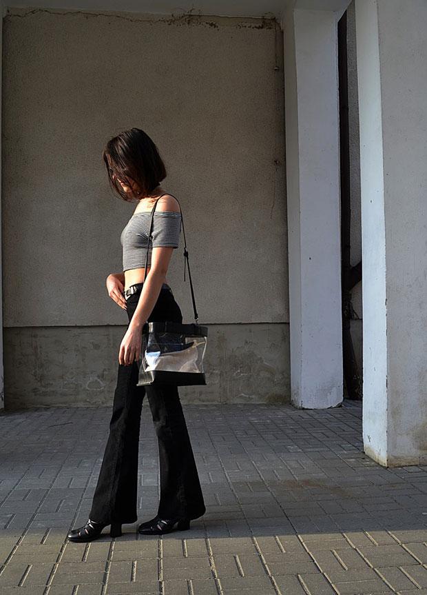 เสื้อ Zara, รองเท้า Zara, แว่นตากันแดด Sinsay, เข็มขัด Aliexpress