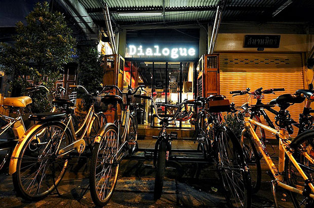Dialogue Coffee and Gallery ร้านกาแฟ