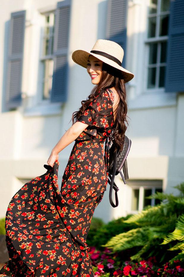 เดรส Asos, รองเท้า Aldo, กระเป๋า Violet Ray, หมวก Dynamic Asia