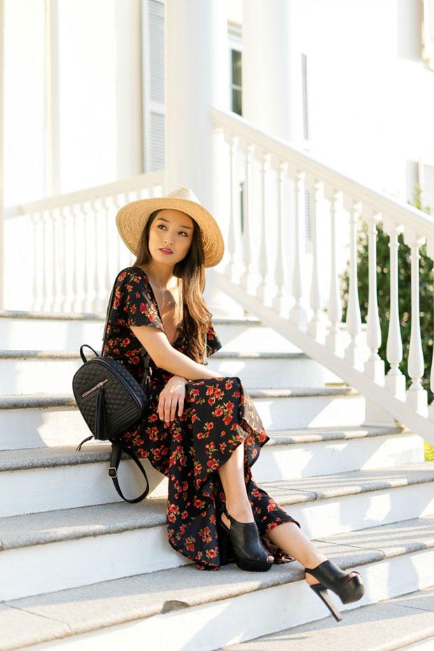 เดรส Asos, รองเท้า Aldo, หมวก Dynamic Asia, กระเป๋า Violet Ray