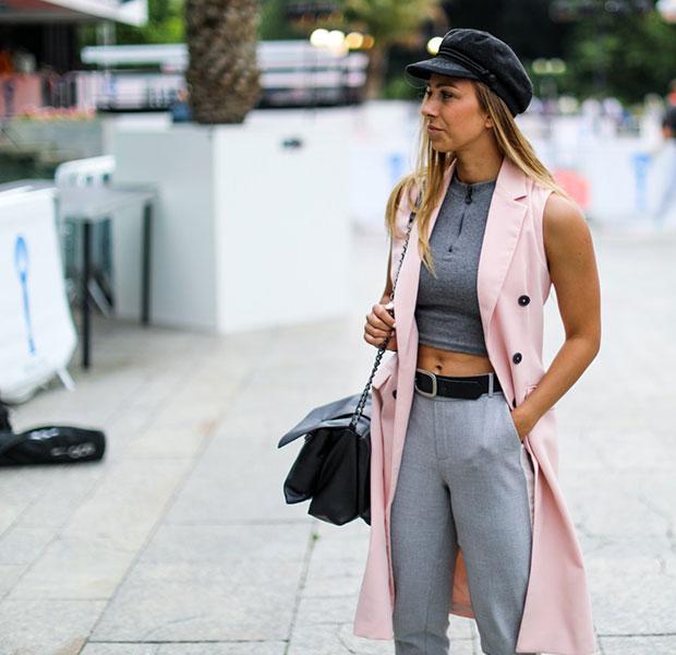 เสื้อกั๊ก Zara, กางเกง Zara, รองเท้า Asos, กระเป๋า Pull & Bear, หมวก H&M