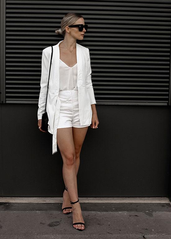 เสื้อสูท New Look, เสื้อ Metisu, รองเท้า Misguided, กระเป๋า Rebecca Minkoff
