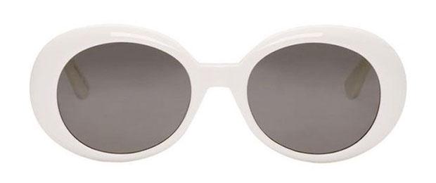 แว่นตากันแดดทรง Oval โครงเรโทร