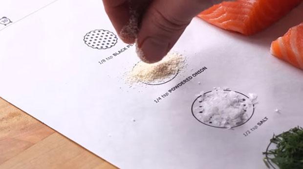 โปสเตอร์ทำอาหารของ Ikea