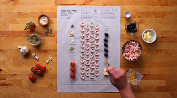 โปสเตอร์สูตรอาหารของอิเกียทำทุกเมนูเป็นเรื่องง่าย