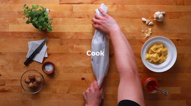 โปสเตอร์สูตรอาหารของ Ikea