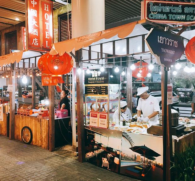 MBK Center Thai Halal Street Food