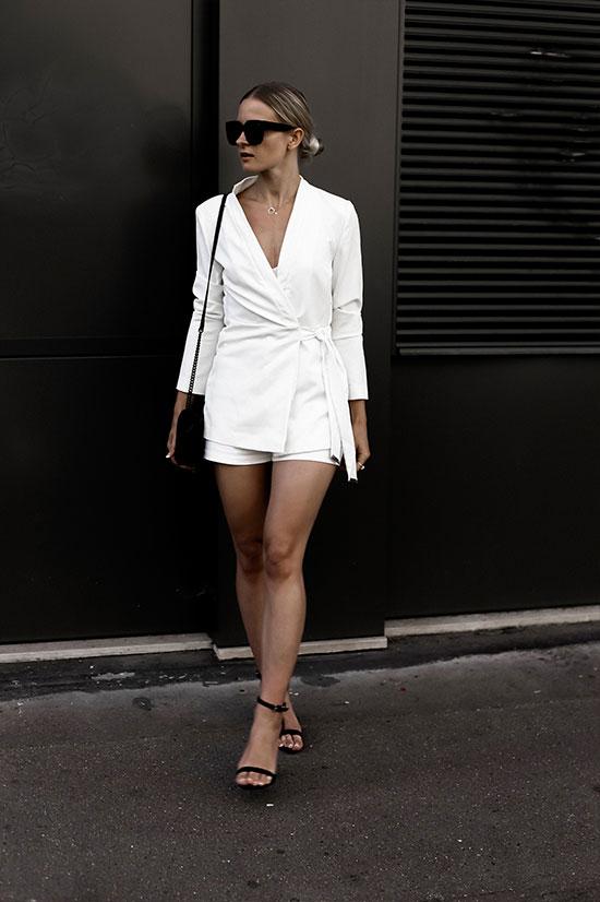 New Look Blazer, Metisu Cami, Misguided Sandals, Rebecca Minkoff Bag