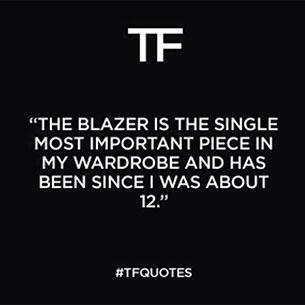บทเรียนแฟชั่นจาก Tom Ford