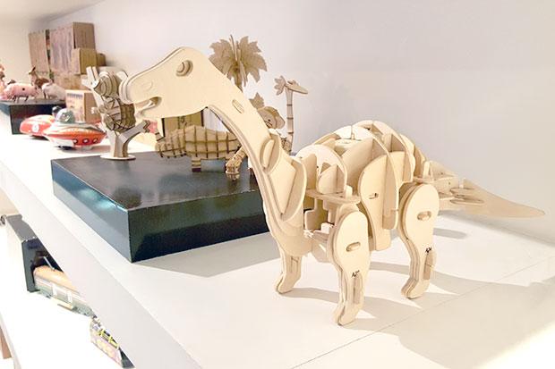 โมเดลไม้ แบรนด์ Robotime รุ่น Triceratops