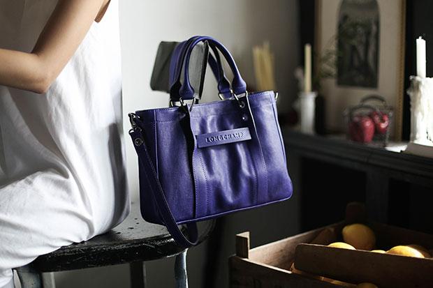 Longchamp 3D สี Amethyst