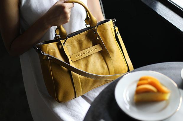 Longchamp 3D สี Mimosa