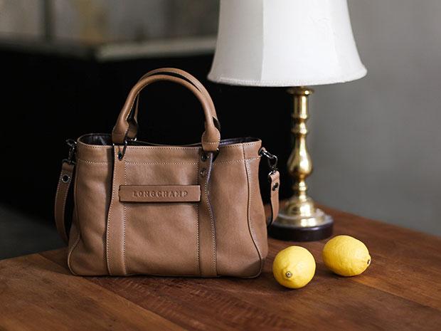 Longchamp 3D สี Taupe