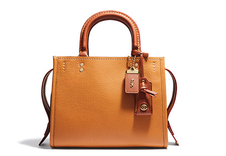 กระเป๋า Coach Mixed Leather Rogue Bag
