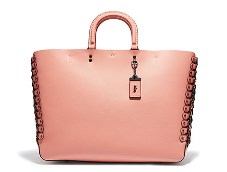 กระเป๋า Colorblock Coach Link Rogue Tote