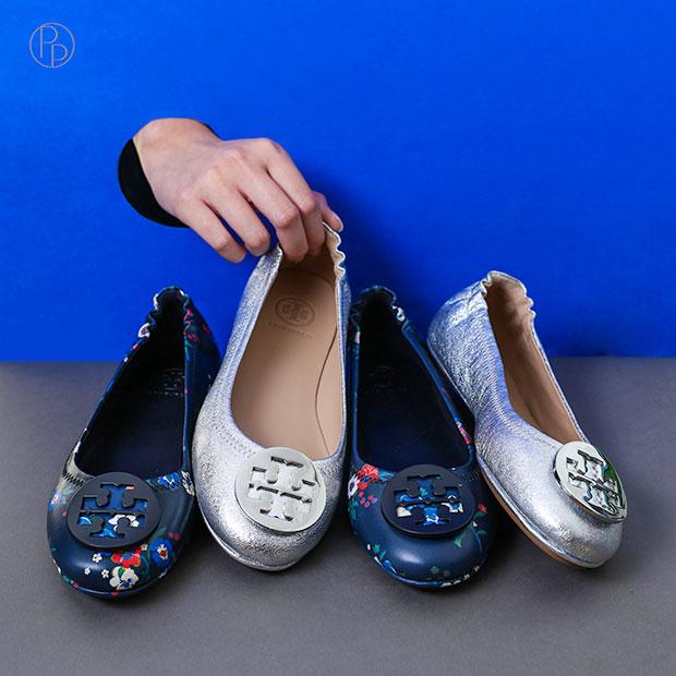 #ของมันต้องมี #มินนี่รองเท้าพับได้ จาก TORY BURCH