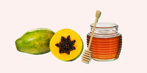 มาสก์น้ำผึ้ง มะละกอ