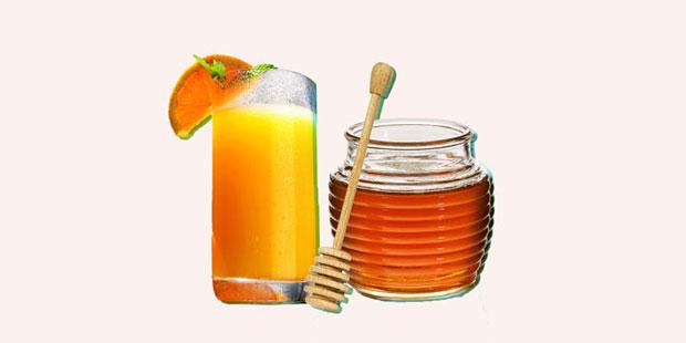 มาสก์ส้มผสมน้ำผึ้ง