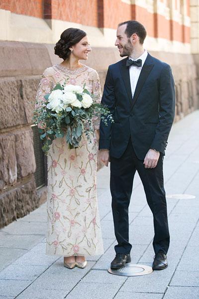 เจ้าสาวใส่ชุดแต่งงานของคุณยาย