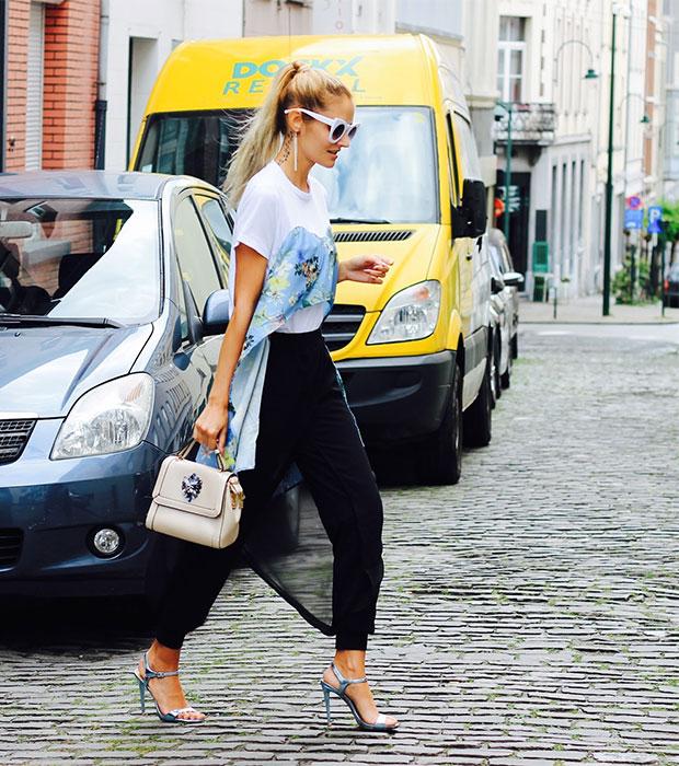 เสื้อ Zaful, กางเกง Sammydress, กระเป๋า Jollychic, รองเท้า Schutz