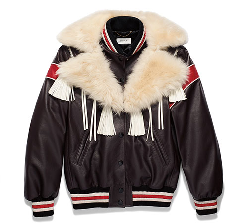 แจ็คเก็ต Coach Dream Catcher Varsity Coat