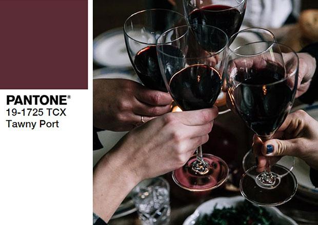 ไอเดียแต่งตัวสีไวน์ก่ำ