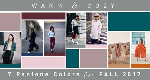 Warm & Cozy ไอเดียแต่งตัว 7 สีแพนโทน