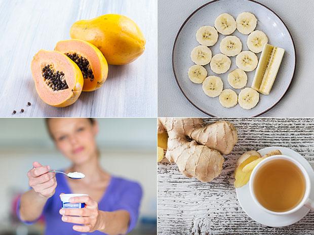 อาหารพิชิตอาการปวดท้อง