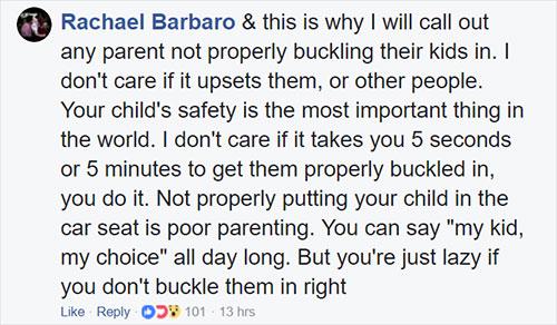 ควรให้ลูกนั่งคาร์ซีททุกครั้งที่โดยสารรถยนต์