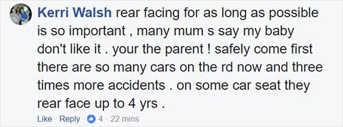 คุณแม่ว่าควรให้ลูกนั่งคาร์ซีททุกครั้งที่ขึ้นรถ